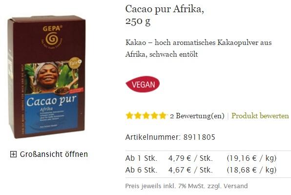 66 Kakao Preis